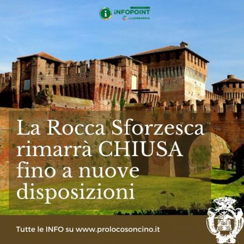 La Rocca Sforzesca � chiusa