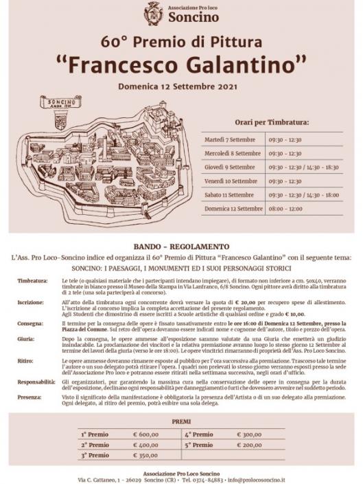 60° CONCORSO DI PITTURA F. GALANTINO