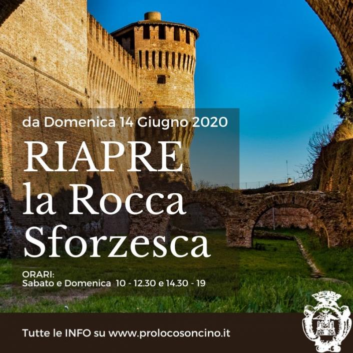 RIAPRE la Rocca Sforzesca